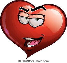 cuore, sono, facce, -, romeo