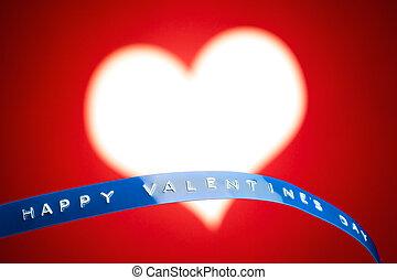 cuore, valentine, cornice foto, giorno, scheda
