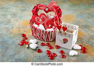cuori, per, giorno valentine