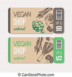 cupão, promocional, orgânica, venda, shop.