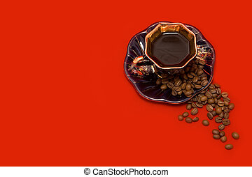 Cup and beans