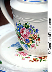 Cup and Saucer - antique