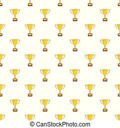 Cup award pattern seamless