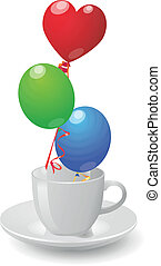 cup balloons