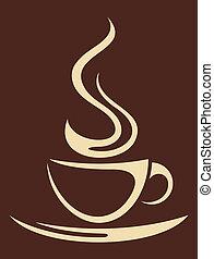 (cup, caffè, coffee), tazza