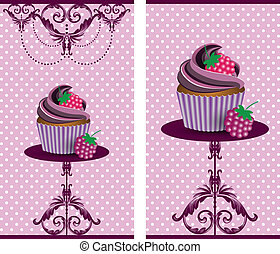 cup cake blackberry