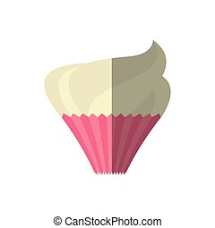 cup cake love sweet delicious shadow