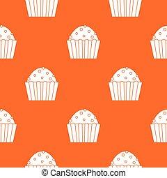 Cup cake pattern seamless