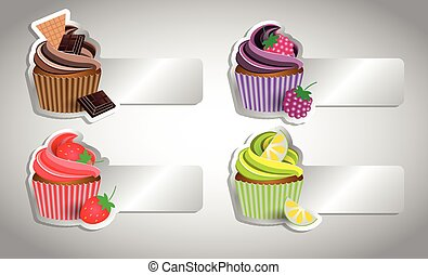cup cake tag