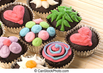 Cup Cakes - Image of freshly baked cup cakes.