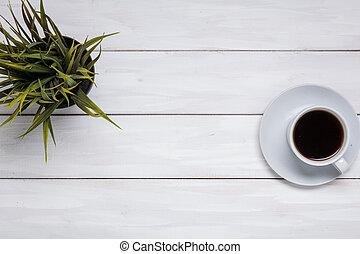 Cup coffee or black tea