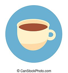 Cup Coffee Tea Beverage Morning Drink Icon