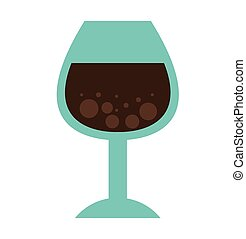 cup drink wine icon