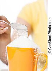 Cup full of sugar