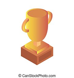 Cup isolated on white background. Vector illustration. EPS 10.