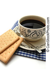 Coffee and Biscuit