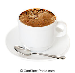 cup of coffee cappuccino