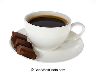 cup of coffee, chocolate