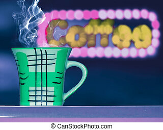 Cup of Coffee, Concept