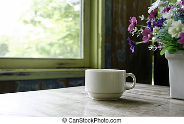 cup of coffee table
