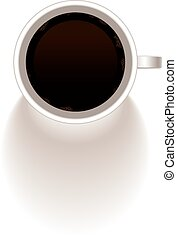 Cup of coffee, vector.
