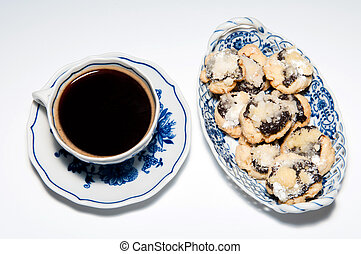 Cup of Coffee with Cakes