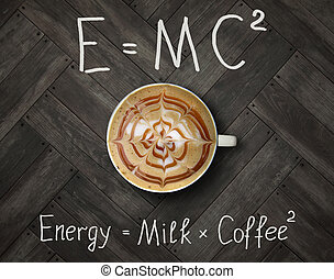 Cup of energy coffee 2