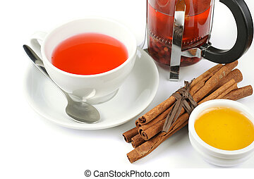 berries tea