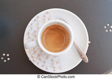 cup of italian coffee