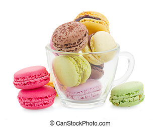 cup of macaroons