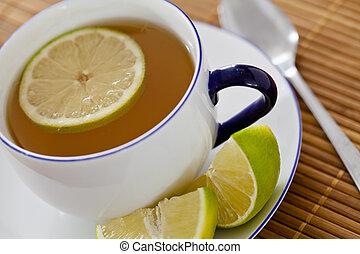 Cup of Tea - Close-up photograph of a cup of tea