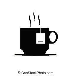 cup of tea illustration