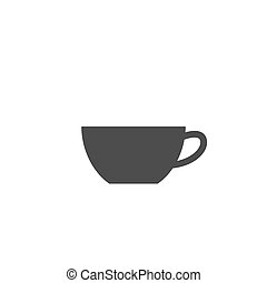 Cup of tea or cofee. Vector illustration