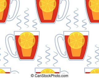 Cup of tea pattern