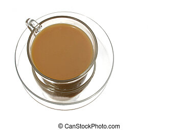 Cup of Tea - Tea in Clear cup