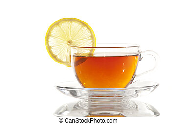 Cup of Tea with Lemon / Teacup