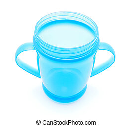 cup on a white background