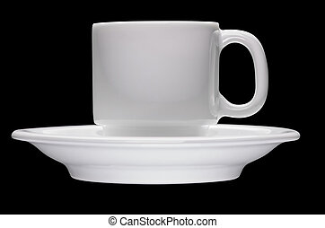 Cup on saucer