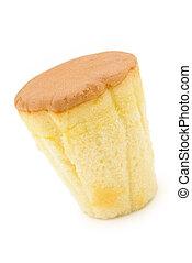 cup shape sponge cake