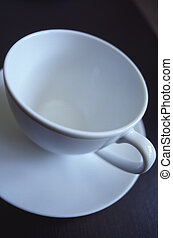 cup solo - interesting view of a coffee cup, taken with 24...