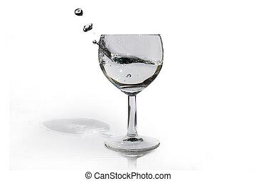 Cup & Splashing Water
