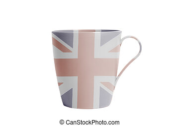 Cup with British flag