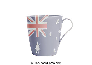 Cup with Flag of Australia
