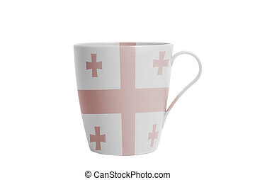 Cup with Flag of Georgia