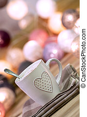 Cup with heart