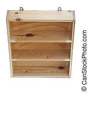 cupboard as white isolate background