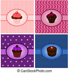 cupcake, 型
