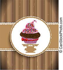Cupcake Background