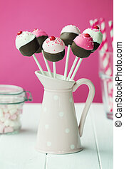 Cupcake cake pops - Cupcake shaped cake pops