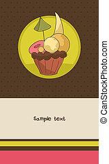 Cupcake card